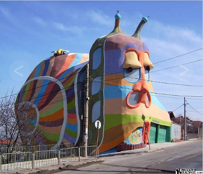 Къщата охлюв в София