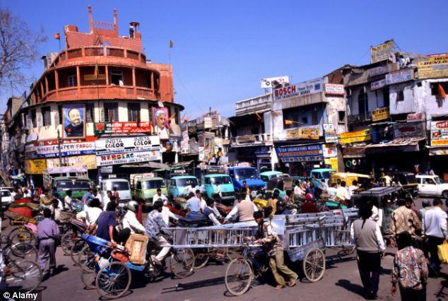 Изглед от северен Утра Прадеш